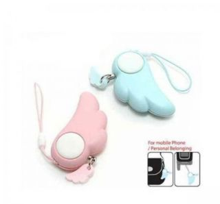 Guardian Angel Wing Alarm Anti Theft Anti Rape Security Device Pendant