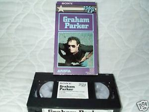 Graham Parker Sony Video LP VHS Live in Concert 82