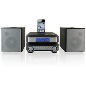 New 2014 iLive Shelf Compact CD Player Stereo Home Music System iPhone iPod Dock