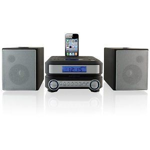 New 2012 iLive Shelf Compact CD Player Stereo Home Music System iPhone iPod Dock