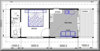 Home Office Floor Plans Granny Flat Guest Quarters Sale House Plans Real Estate