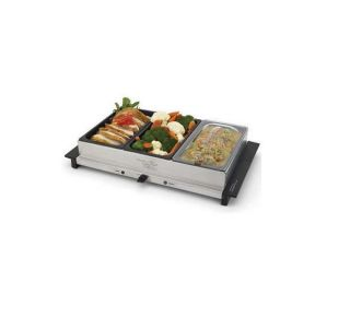 Wolfgang Puck Electric Buffet Server w Warming Tray