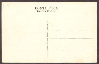 Costa Rica Postcard San Jose España Park Panoramic View L K