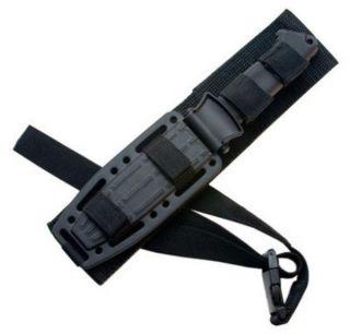 Gerber Prodigy Survival Combat Knife Black w Ballistic Nylon Sheath 22 01121