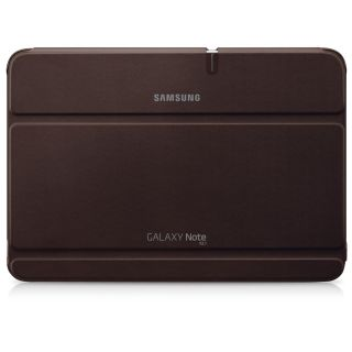 Brown Original Samsung Galaxy Note 10 1 Book Cover Stand Case for N8000 N8010