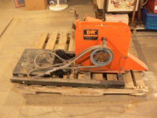 Dr C18 CHP Heavy Duty Wood Chipper Unit Motor Base Parts