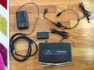 Audio Technica ATW R250 VHF Wireless Microphone System