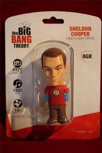 The Big Bang Theory Sheldon Cooper 8GB USB Flash Drive MIP NRFP