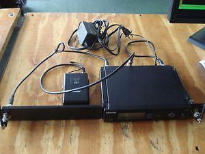 Shure SLX4 Wireless Microphone System SLX1 Bodypack Transmitter