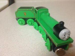 1992 93 Shining Time Wooden Thomas Train Henry Tender RARE VGUC Staples