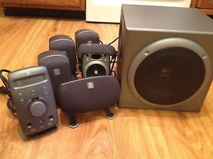 Logitech Z680 THX Certified 5 1 Digital Surround Sound System