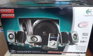 Logitech Z 5500 Digital Surround Sound Speaker System 097855021755