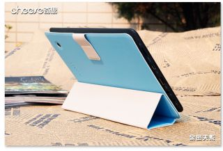 Cheese Ainol Novo 7 Venus Android Tablet PC Ultra Slim Smart Case Cover Stand