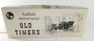 Hudson Miniatures Old Timers 1909 Model T Ford Touring Car