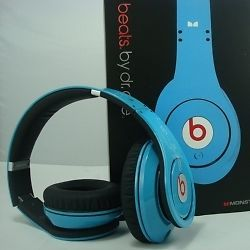 Dr Dre Beats Studio Headphones Light Blue Color