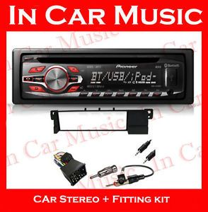 BMW 3 Series E46 Car Stereo Fitting Kit Pioneer Bluetooth CD Player  USB