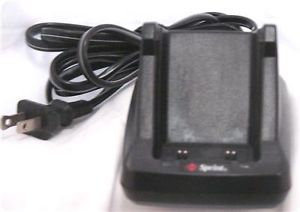 Sprint Samsung Dual Port Desktop Battery Charger Used