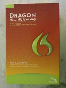 Dragon Naturally Speaking Voice Recognition Software Ver 12