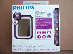 Philips Universal USB Charger Travel Kit 15 Hrs