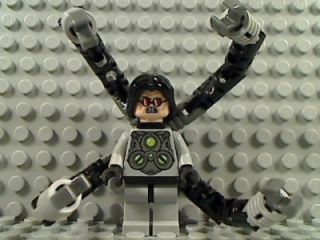 Lego Doctor Octopus Ultimate Amazing Spiderman Marvel Super Heroes 6873 Ambush