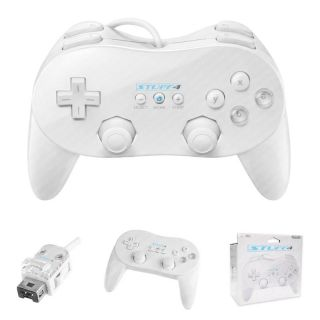White Nintendo Wii Motion Plus Adapter Module Fits All Wii Remote Controllers