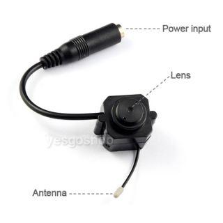 Wireless USB DVR Receiver Mini Cam Micro Spy Camera 4CH DVR Kit CCTV Audio Video