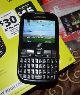 Samsung SCH Black Straight Talk Cellular Cell Phone Smart Hand Free Camera Video