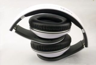 Monster Beats Studio DJ Headphones Dr Dre White