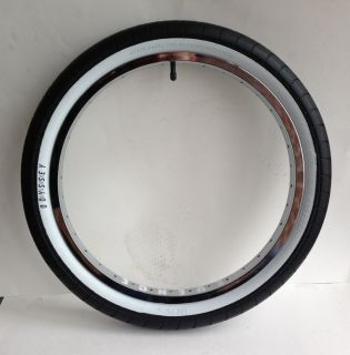 Odyssey 2 2 x 20 Chase Hawk White Wall BMX Bike Tire Sunday Tom Dugan Oil Slick
