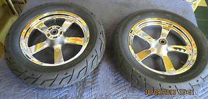 Harley Davidson Fat x5 Spoke Wheels Michelin Tires