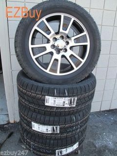 """20"""" Ford F150 Expedition Factory Style Black Wheels Rims Goodyear Tires 3787"""