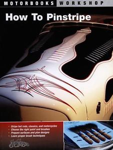 How to Pinstripe Asymmetrical Designs Freehand Hot Rods Cars Motorcycles