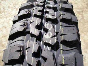 Federal 265 70R17 Mud Terrain Truck Tires Lt 2657017 Off Road