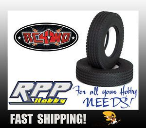 "RC4WD Retread 1 7"" Commercial 1 14 Semi Truck Tires 2 RC4Z T0033"