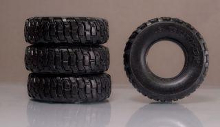 1 24 Resin Rubber Offroad Unimog 4x4 Semi Truck Tires