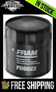 Fram Oil Filter Standard PH6022 Harley Davidson