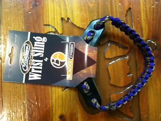 Black's Creek Guide Gear Mathews Deluxe Wrist Sling Lost Camo Purple