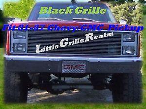 81 82 83 84 85 86 87 Chevy Silverado 1500 C10 Pickup Black Billet Grille