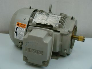 Siemens 1 HP 1755 RPM Electric Motor SD100
