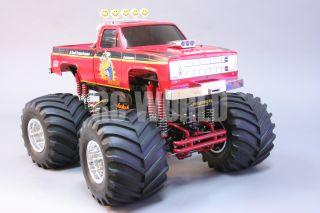 Tamiya 1 10 RC Clod Buster Monster Truck 4x4 4WS RTR
