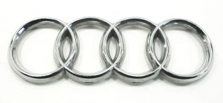 Hatch Emblem 00 06 Audi TT MK1 Trunk Lid Rings Badge Genuine OE 4B9 853 742
