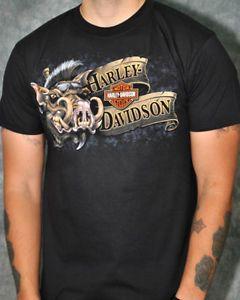 Harley Davidson Mens Short Sleeve Shirt
