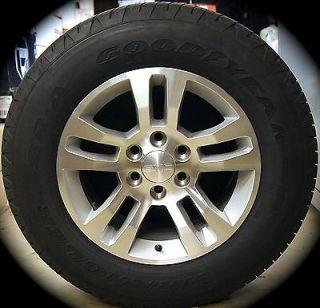 "New 2014 Chevy Silverado Tahoe Suburban Avalanche 18"" Wheels Rims Tires Sierra"