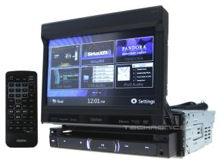 Clarion NZ503 2yr Wrnty DVD CD MP3 USB Navigation Pandora Bluetooth Headunit