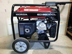 Honda EG6500 CL Generator with Handle and Wheel Kit Similar to EM6500 EB6500