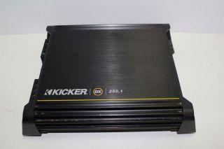 Kicker DX250 1 DX Series Car Audio 250 Watts RMS Mono Block Class D Power Amp