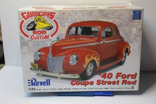 REVELL1940 Ford Coupe Street Rod Junkyard Parts Interior Tub Front Seat 2 Other