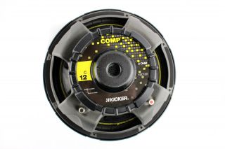 "2 Kicker 10C122 Comp 12"" 600 Watt 2 Ohm Car Subwoofers Combo Amplifier Amp Kit"