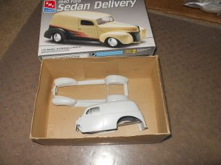 Model Car Parts AMT 1940 Ford Sedan Delivery