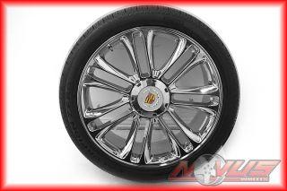 "New 24"" Cadillac Escalade Platinum Sport Chrome Wheels Pirelli Tires 20 22 26"